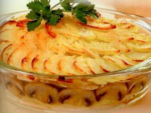 картофельная запеканка без мяса в духовке рецепт с фото пошагово в #14