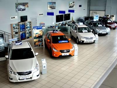 Схему продажи автомобилей